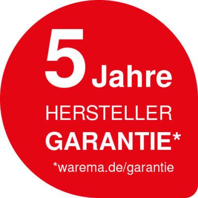 Garantie auf Markisen von dem Hersteller Warema