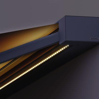 Terrassenmarkise Beleuchtung